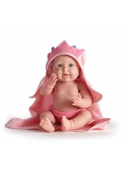 Muñecas Berenguer Boutique la Newborn LA NEWBORN CON TOALLA ROSA NIÑA