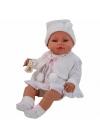 Muñecas Berbesa Recién Nacidos 42 Cm RECIÉN NACIDO CON VESTIDO BLANCO EN CAJA