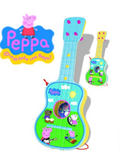 Guitarra 4 Cuerdas Peppa Pig