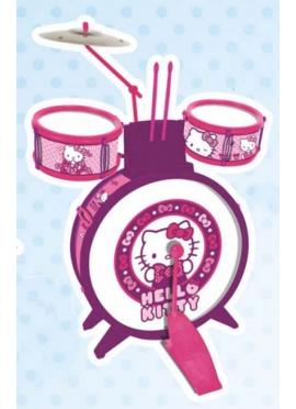 Bateria Primera Edad sin Banqueta Hello Kitty