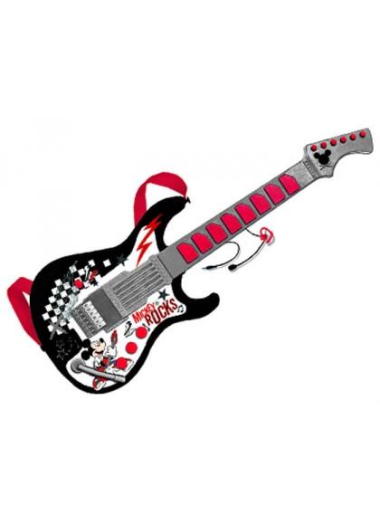 Guitarra con Micro Mickey