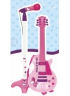Guitarra Electrónica y Micro Hello Kitty
