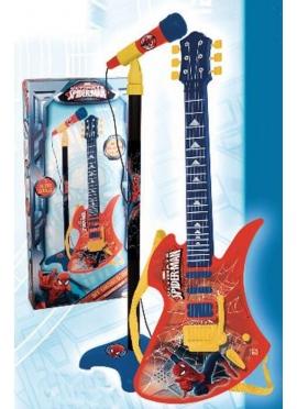 Guitarra Electrónica y Micro Spiderman