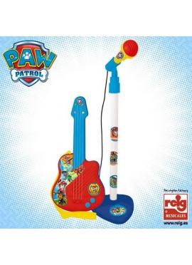 Micro y Guitarra Paw Patrol