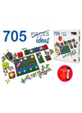 Pixel Color 718 Piezas con Reloj