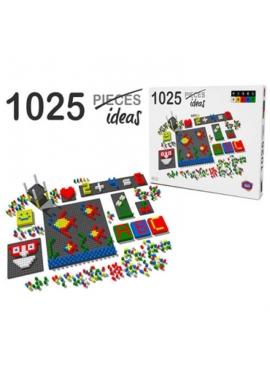 Pixel Color 1042 Piezas con Reloj
