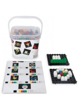 Pixel Color 356 Piezas con Reloj