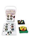 Pixel Color 452 Piezas con Reloj