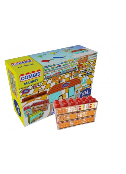 Combisticker Supermercado 104 piezas