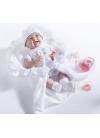 Muñecas Berenguer Boutique la Newborn Newborn Con Conjunto Blanco y Accesorios
