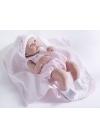 Muñecas Berenguer Boutique la Newborn Newborn Con Traje Rosa y Mantita