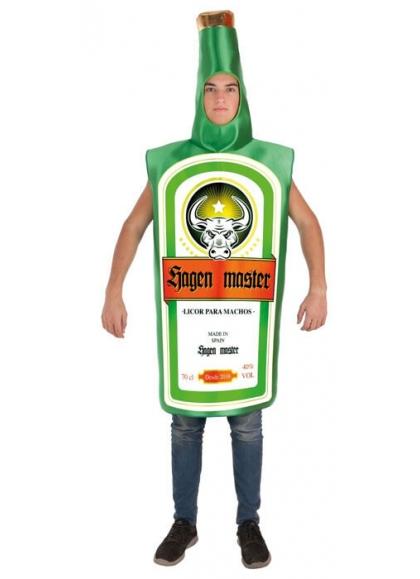Kostüm-Flasche Jungen Master Erwachsener
