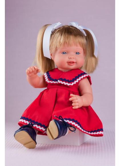Muñecas Miel de Abeja Cuco 35cm Cuco Vestido Marinera Roja