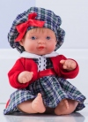 Muñecas Miel de Abeja ñacos de Miel 23cm Ñaco Escocesa