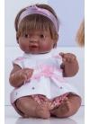 Muñecas Miel de Abeja ñacos de Miel 23cm Ñaco Pantalón Corto Rosa con Cerezas