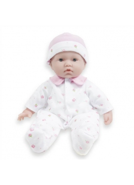 In Baby Pajamas and Cap 28 cm