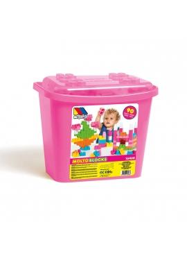 Cubeta 90 pcs Rosa