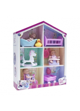 House With Dolls and Accessories
