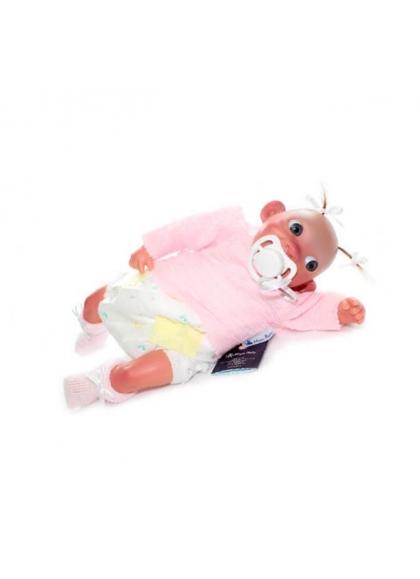 Bebe Carita Coleccion Rosa 28 cm