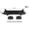 Chasis Vagon Normal Con Ruedas