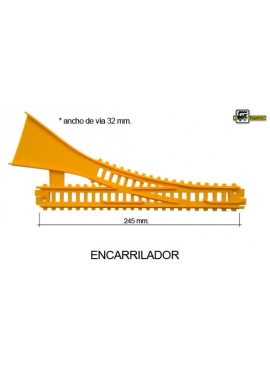 ENCARRILADOR CLASICO AMARILLO
