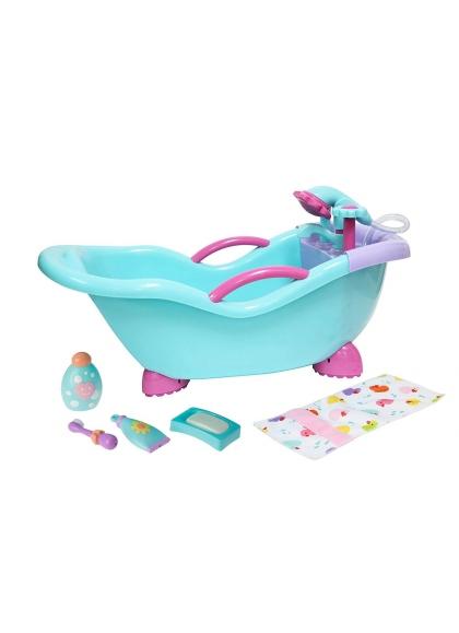 Muñecas Berenguer Boutique la Newborn Bañera con Accesios y Ducha