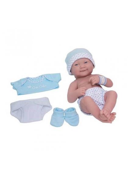 Newborn With Blue Clothing Set