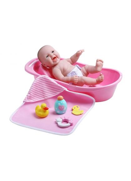 Newborn Con Bañera y Accesorios de Baño