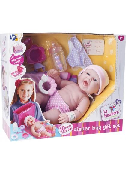 Muñecas Berenguer Boutique la Newborn Newborn Con Bolso-Cambiador
