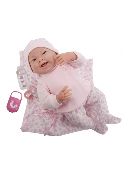 Newborn Pink Pajamas With Blanket