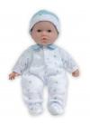 Baby With Blue Print Pajamas 28 cm