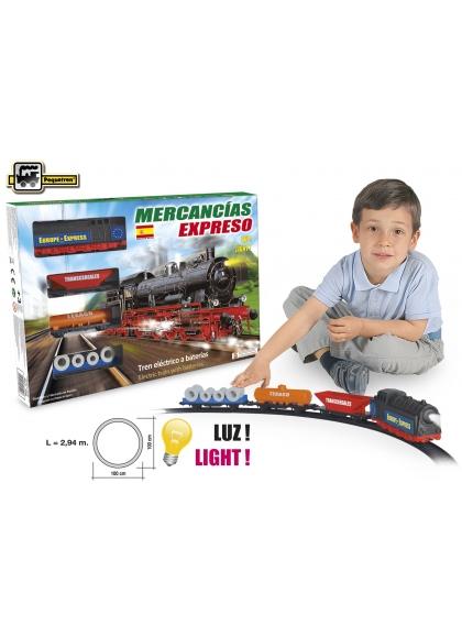 Juguetes Trenes Serie Clásicos Tren Expreso Mercacias