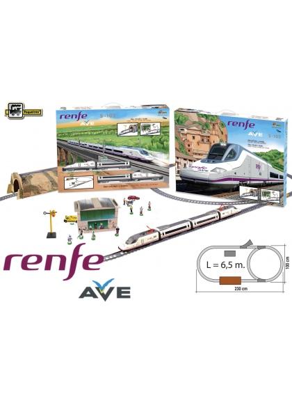 Juguetes Trenes Serie Alta Velocidad Tren Ave Alta Velocidad