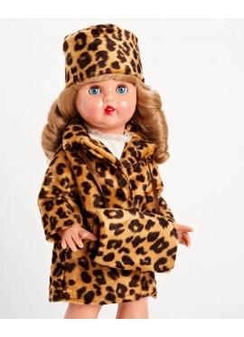 Conjunto Abrigo Leopardo
