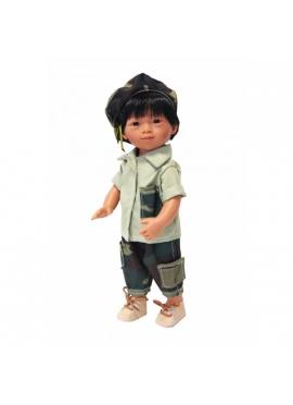 Mario Molde Vietnamita Modelo camuflaje 34 cm