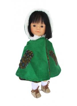 Marieta Con Abirgo Verde 34 cm