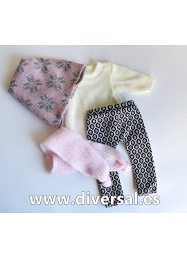 Conjunto Pink winter
