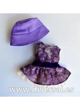 Conjunto Sueño púrpura