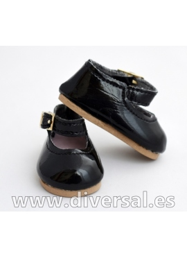 Shoes Patent Leather Black