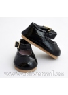 Zapatos Charol Negros