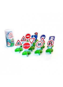 Verkehrszeichen Europäischen Minimobil