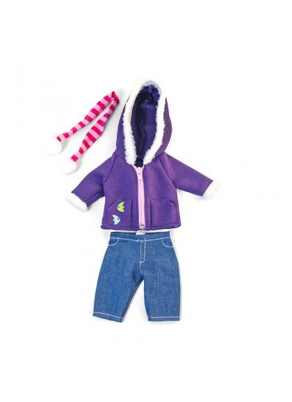 A Set Of Cold Polar Purple 32 Cm