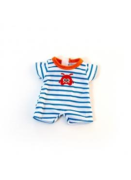 Pyjama Rayé De La Chaleur De 21 Cm