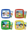 Juguetes Series y Colecciones PUZZLES INFANTILES Set 4 Puzzles: Las Estaciones