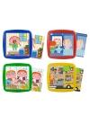 Juguetes Series y Colecciones PUZZLES INFANTILES Set 4 Puzzles: Hábitos Diario
