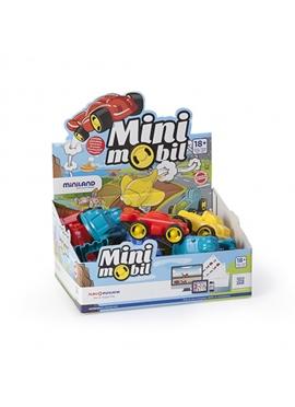 Minimobil Go, 12 Cm, 15 Stück