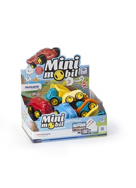 Minimobil Jobs, 12 Cm, 14 PCs