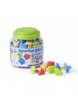 Superpegs 128 Pcs. Bright