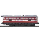 Locomotora Con Motor Clasica Rojo