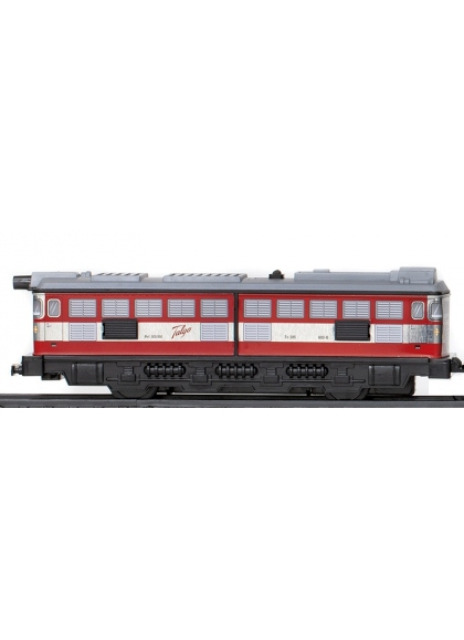 Locomotora Sin Motor Rojo
